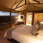 Luxury Safari Tent - View From Bed