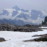 Mt Shuksan from just above the car park