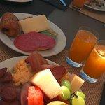 Good breakfast !