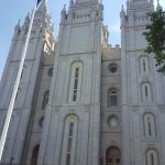 Salt Lake Temple from Tabernacle