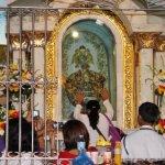 the altar of the original Sto Nino