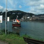 The ferry across the Mosel.