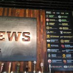 Wisconsin Made Tap Beer Choices at new bar