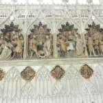 1 des bas-reliefs intérieurs, très belle oeuvre