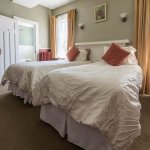 Cottage room features two x Twin beds