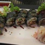 Zestaw pieczonych sushi :)