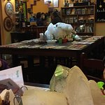 Massive Mountan Quarz on each table!