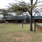 Main lodge, dining, and gathering space.