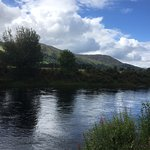River Tummel from the terrace