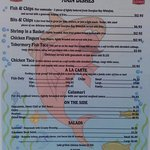 The Fish & Chip Place food menu