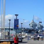 H.M.S. Queen Elizabeth 65,000 tons