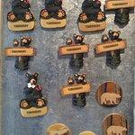Tobermory black bear magnets