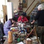Una maravilla el taller de fileteado