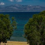 Aketeon Hotel: View from room out to Naxos
