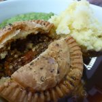 Swedey Todd pie, The Green Room