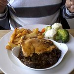 The chefs steak pie