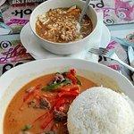 Curry y sopa