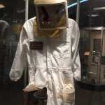 Beekeeper suit at Cockrell Butterfly Museum