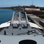 Photo of Battleship USS Iowa BB-61