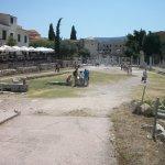 Roman Agora Foto
