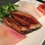 Sashimi -eel & fish