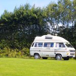 Camping area for motorhomes/campervans and tents
