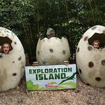 Exploration Island- lots of cool dinos!
