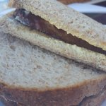 Sausage sandwich very yummy