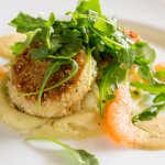 Pan Seared Lump Crab Cakes at Glenmorgan