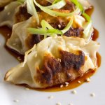 Pan Fried Pork Dumplings at Glenmorgan