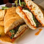Grilled Chicken Ciabatta at Glenmorgan