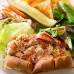 The Main Line Lobster Roll at Glenmorgan