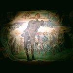 Painting of Pilipino hero Jose Rizal being shot