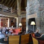 Inside of Timberline Lodge Mt Hood