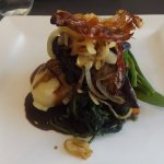 Pan fried Calves livers with caramelised onions