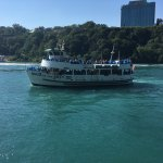 Maid of the Mist boat. I recommend standing in the front lower level.