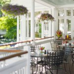 Outdoor Dining at The Red Rooster