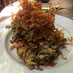 Crab hash, the crab is at the bottom