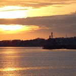 Sunset View from Royal WIlliam Yard