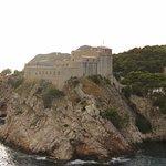 Fort Lovrijenac, from city Walls