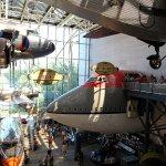 Various Planes on Display