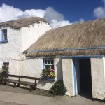 Famine village cottages