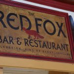 Red Fox Sign