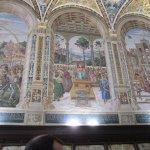 Wandbilder in Biblioteca Piccolomini