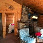 2 bedroom lodge interior