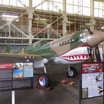 Nicely restored fighter