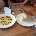 Italian Style Pan Bread - delicious warm bread and oil and vinegar