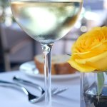 Glass of Pinot Grigio