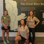 Warrior Expedition paddlers against entire Mississippi River map