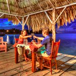 Private romantic dinners available at a variety of outdoor locations